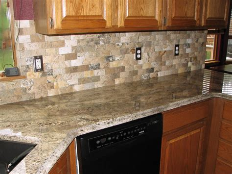 red backsplash tiles kitchen cabinet pink granite light stone kitchen backsplash