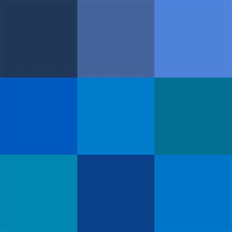 different color blues file shades of blue png wikimedia commons