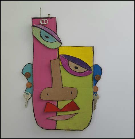 Masker Per Box marymaking abstract cardboard masks