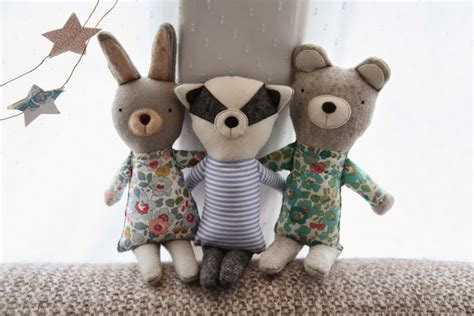 Handmade Soft Toys Uk - stickytiger inspiring craft spaces junkaholique