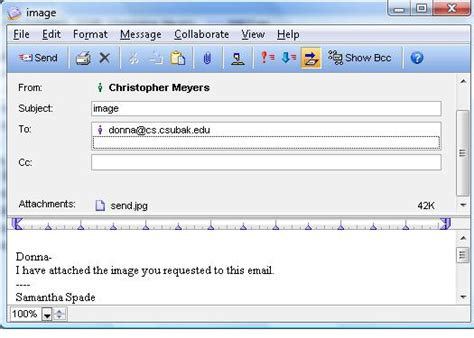 Explain The Components Of An Internet Email Address Email Template For Sending Attachment