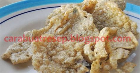 Crunch Keripik Buah Pisang Pedas cara membuat keripik kulit pisang mentah resep masakan