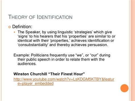 Theory Of Identification kenneth burke and theory of identification