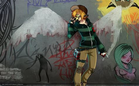 wallpaper graffiti anime download wallpaper art guy dressing container free