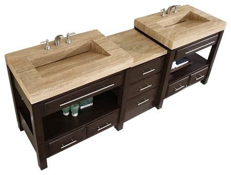 furniture adorna 92 inch transitional double sink 36 inch modern single sink bathroom vanity contemporary