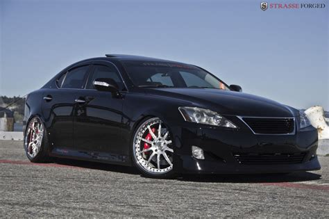 lexus is 250 custom wheels lexus is 250 on strasse forged wheels autoevolution