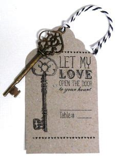 Wedding Quotes Key by Wedding Favor Tags Skeleton Key Quote Vintage Style