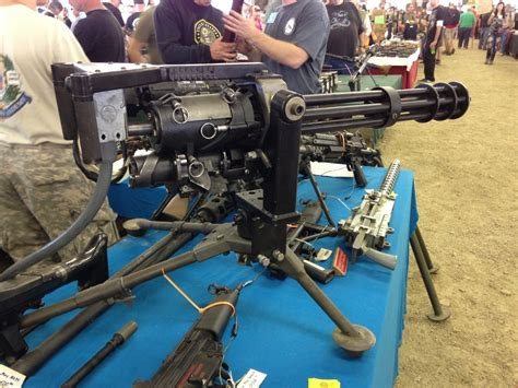 Knob Creek Gun by Knob Creek 13 Hello M134 Mini Gun The Firearm Blogthe