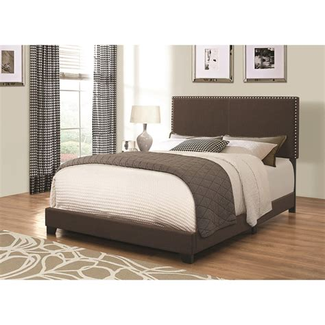 upholstered twin bed coaster upholstered beds 350081t upholstered twin bed with nailhead trim del sol