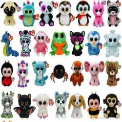Birthday Gifts Delivered 2017 Cute Stuffed Animals Ty Beanie Boos Baby Soft Plush Stuffed Toys Wholesale Big Eyes Animals