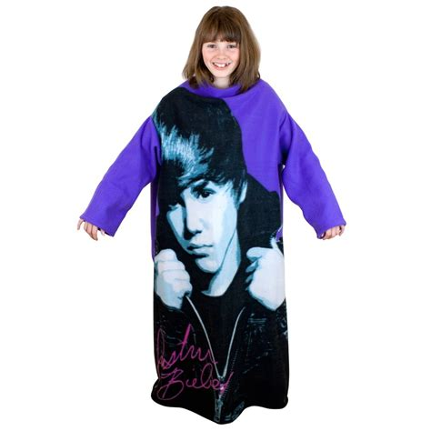 justin bieber decke justin bieber sleeved fleece blanket new official