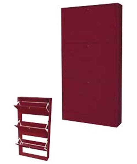 Wall Units Storage Slim Wall Mounted Shoe Storage Unit Review Compare