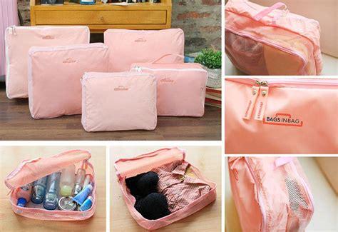 Travel Bag 5 In 1 jual bags in bag travel organizer bag set 5 in 1