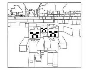 Pour Imprimer Ce Coloriage Gratuit 171 Coloriage Minecraft 6