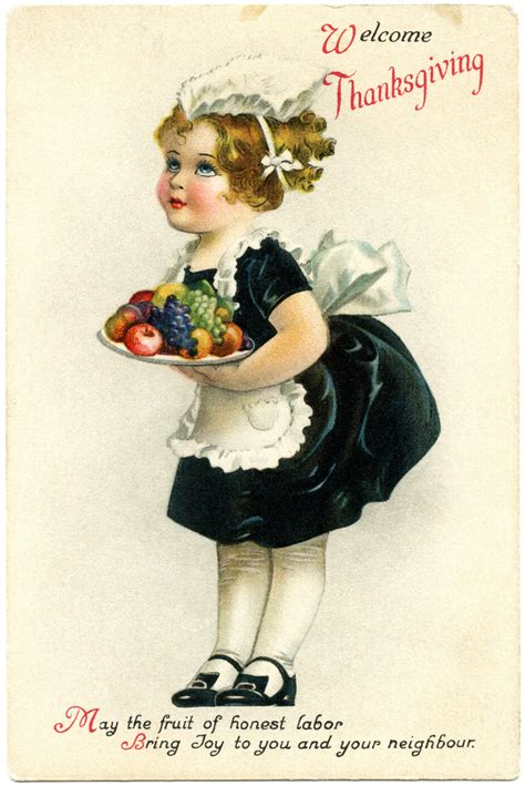 printable vintage thanksgiving cards free antique postcards 171 antique auto club