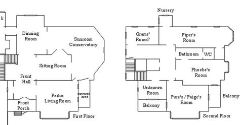 halliwell manor floor plans halliwell manor floor plan by notsalony blueprints of