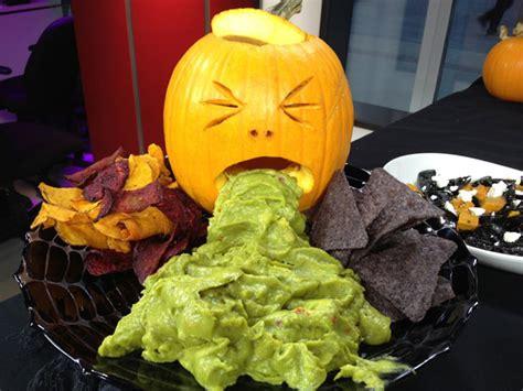 guacamole barfing pumpkin