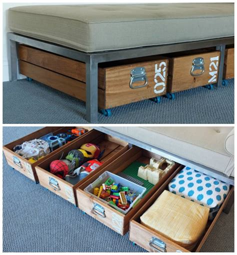 wise diy toy storage ideas   home clutter