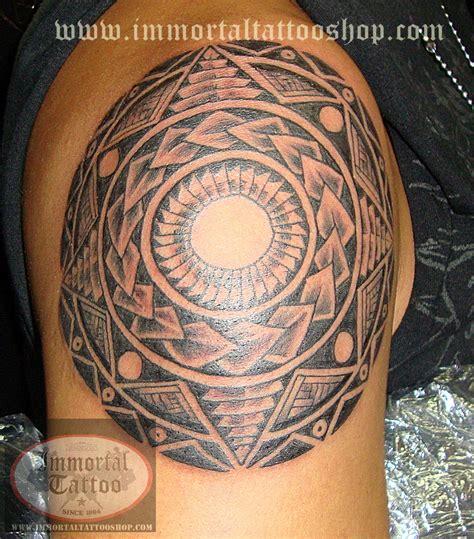 fascinating filipino tribal immortal tattoo fascinating tribal immortal design for