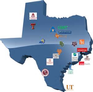 universities in map colleges in map