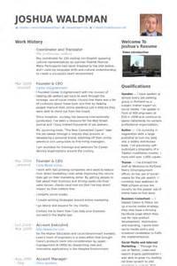 Translator Resume Samples Visualcv Resume Samples Database