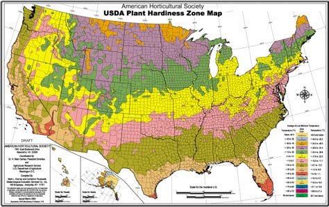 american plant zones map usda hardiness map