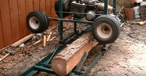 Life Home Furniture by Video Turn Your Old Golf Cart Into A Sawmill In As Fast