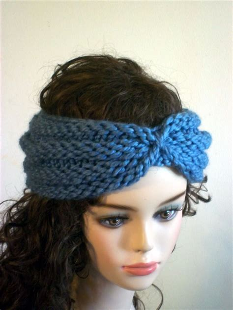 knitting patterns for headbands knitted turban headband patterns a knitting
