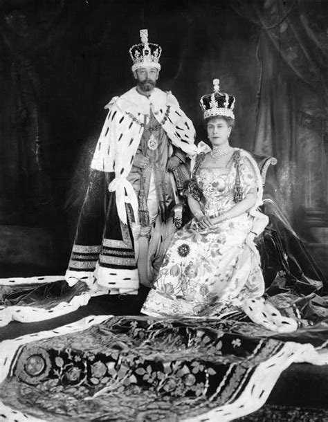 elizabeth ii last name coronation of king george v and queen mary unofficial