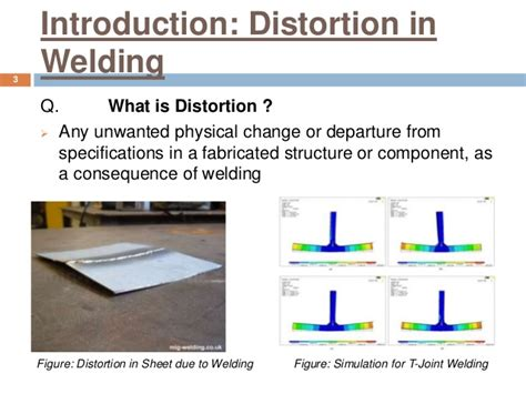 What Is The Sectionalism by Distortion In Welding