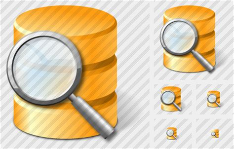Finder Database Database Icon Aero Professional Stock Icon And Free Sets Awicons