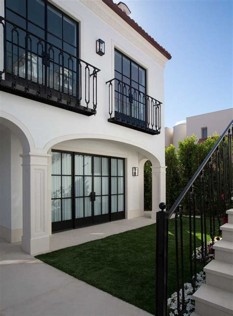 black windows cream house trim home sweet home
