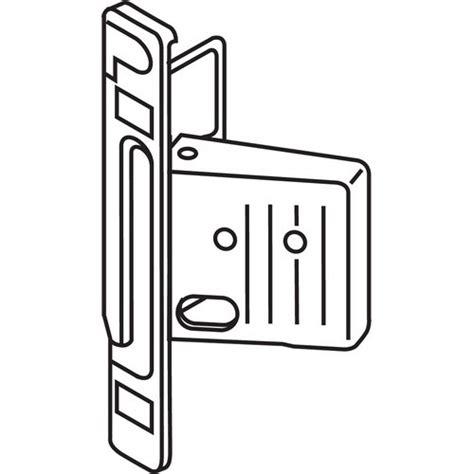 Blum Zsf 1200 Metabox Right Hand Clip Front Fixing Bracket