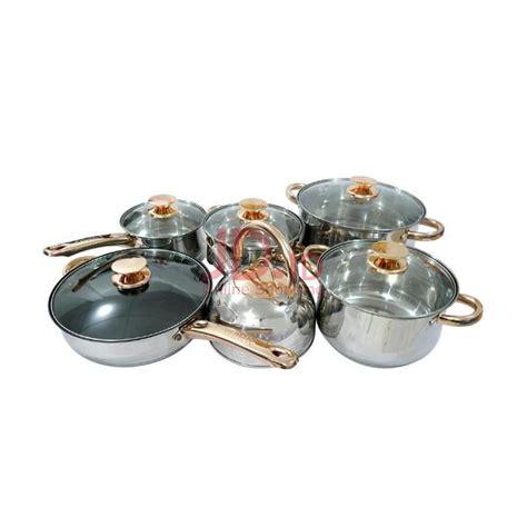 Airlux Ac 8005 Panci Set Cookware jual kaisa vila cookware set 12 pcs kv 1004 rumah kita