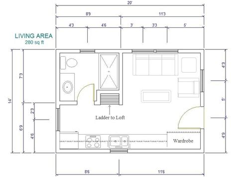16x20 floor plans 20 x 40 plans with a loft joy studio design gallery