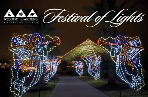 festival of lights galveston reviews bring in the holidays at moody garden s festival of lights