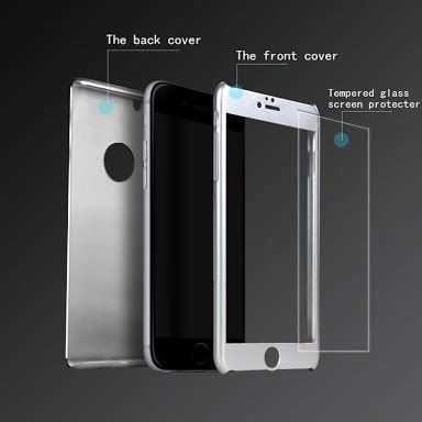 Tempered Glass Khusus 360 jual beli iphone 6 6s 360 protection neo hybrid