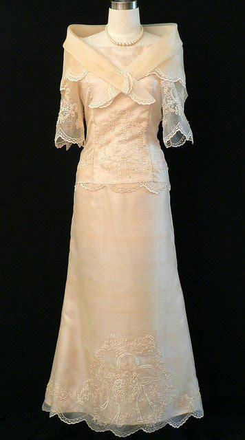 Dress Saja custom filipiniana gown 6023cm www barongsrus