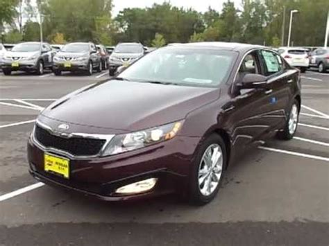 Kia Optima Ex Premium Package 2013 Optima Ex With Premium Package Shown By Chad