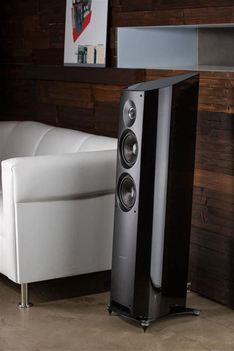 audio centre sonus faber venere  black speakers
