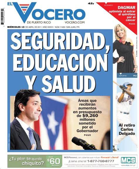 peri dico el vocero de puerto rico puerto rico newspaper vocero puerto rico newspapers in puerto rico