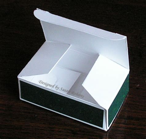 make a box out of card box template and tutorial and coming soon
