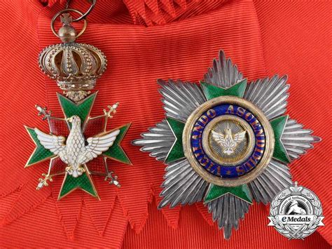 müller weimar a saxe weimar order of the white falcon grand cross set