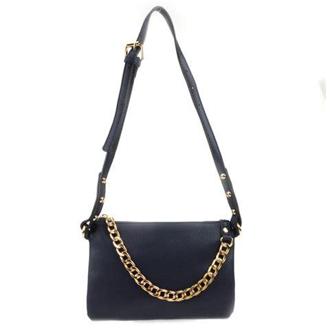 Chain Zipper chain zipper small handbag x24 31441 navy