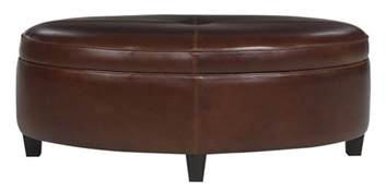 Oversized Storage Ottoman Oval Ottoman Coffee Table With Storage Club Furniture