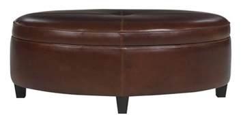 oversized storage ottoman oval ottoman coffee table with storage club furniture