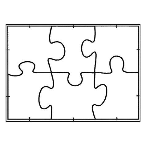 Joypac White Line Puzzle Format A5 Zum Selbst Bemalen Wei 223 6 St 252 Ck 6 Jigsaw Puzzle Template
