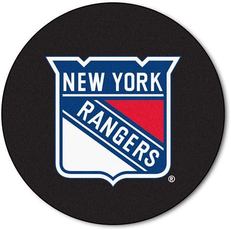 New york rangers hockey puck rug interiordecorating