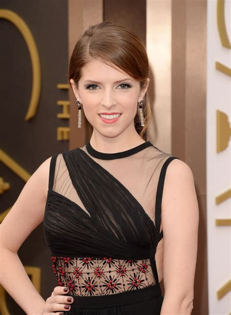 anna kendrick wearing j mendel dress at 2014 oscars