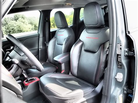 jeep renegade interior 2016 2016 jeep renegade trailhawk review